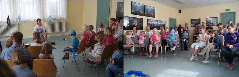 Kinderveranstaltung im Bürgerhaus (Fotos: E. Schön)