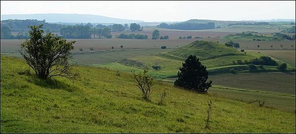 Schwellenburg - Blick nach Nordwesten