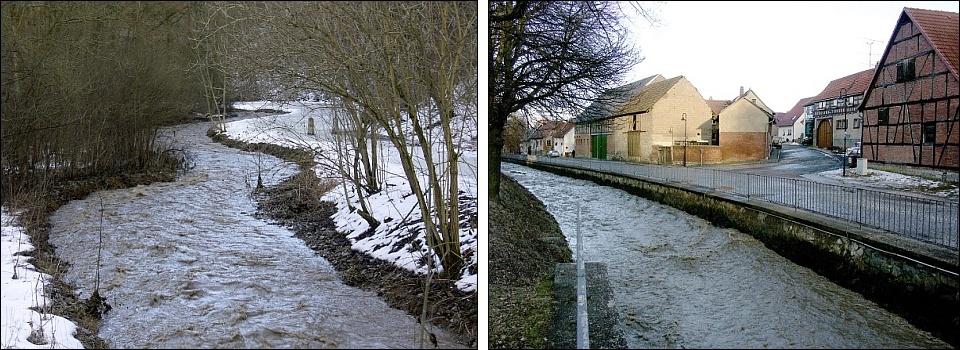 Weißbach-Hochwasser 2006
