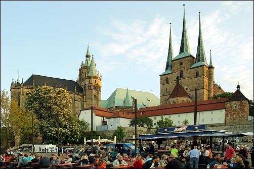 Dom und Severi-Kirche (Foto: E. Schön)