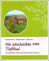 """Deckblatt """"Die Geschichte von Tiefthal"""""""