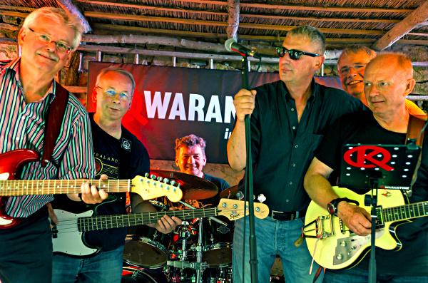 Auftritt zum Rock Open Air in der Grundmühle im Sommer 2015