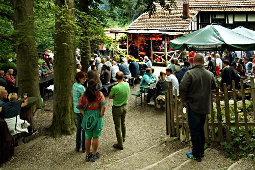 Kwarantäne-Konzert in der Grundmühle am 16. Juli 2016