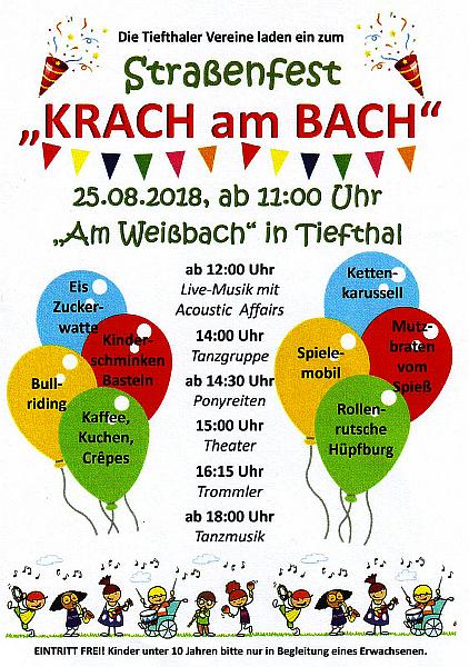Krach am Bach